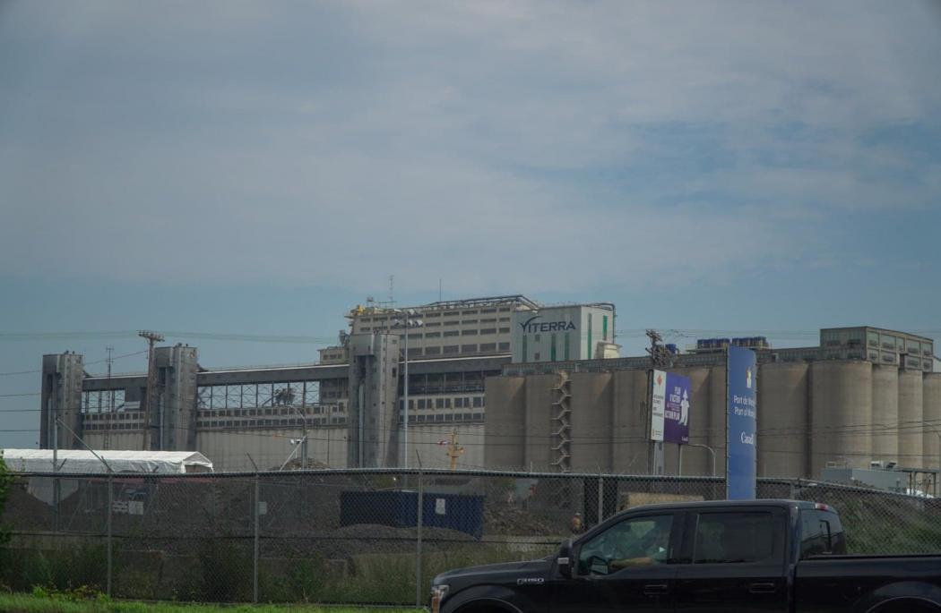 Arthur Calonne. Vue du Port de Montréal, le 11 août 2020.